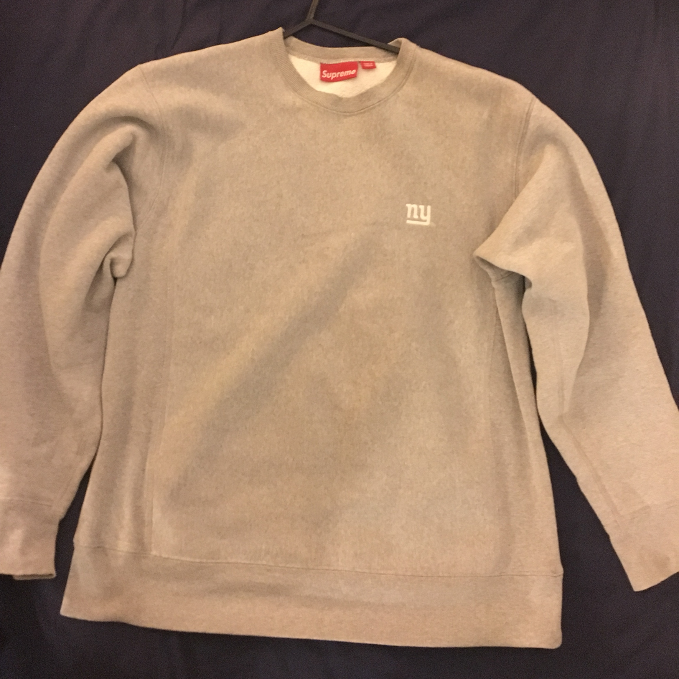 outlet store 618c0 86665 Vintage OG Supreme New York Giants from 2000 Sweater ...