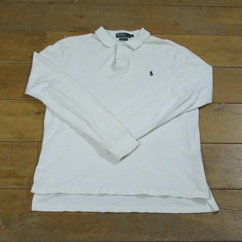 adac5841 @vintagefireuk. 3 years ago. Suffolk, UK. Long sleeve Ralph Lauren custom  fit polo.
