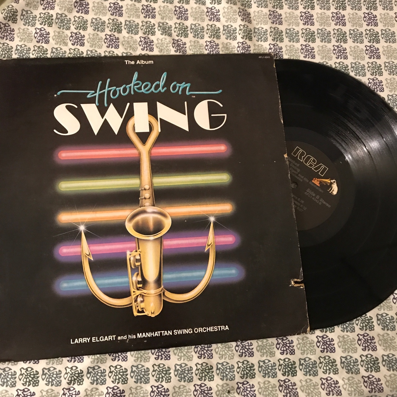 Hooked On Swing Vinyl This Record Is Full Of Depop