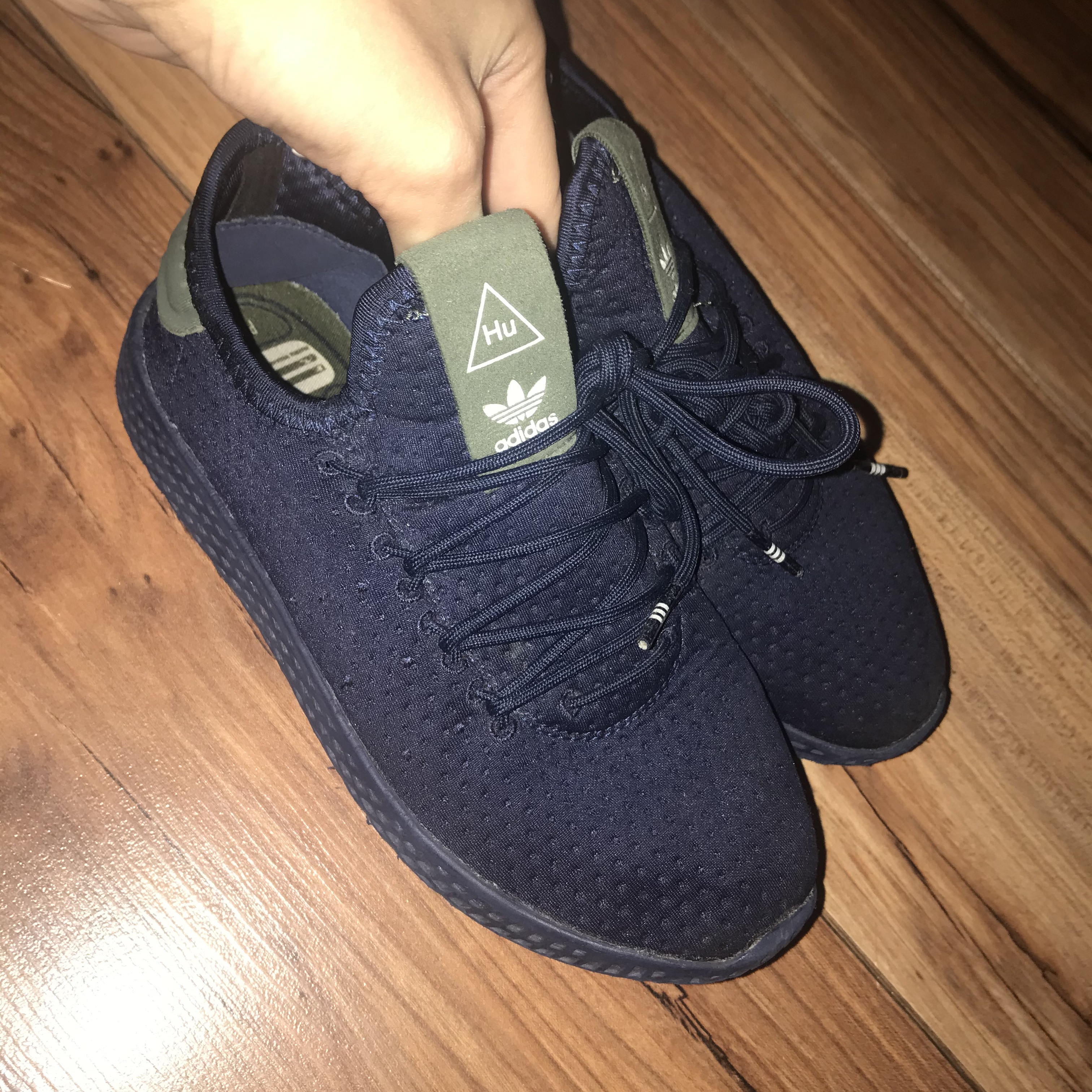 Adidas Kids Trainers, size 13.5. Paid