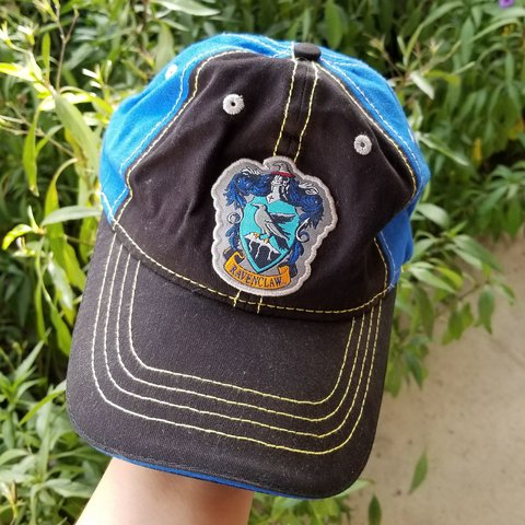 00b44e0b @cyber1975. last year. North Las Vegas, Clark County, United States. Harry  Potter Ravenclaw dad hat from the wizarding world ...