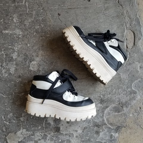 41d1ca4f9a4 Jeffrey Campbell chunky platform sneakers. Purchased months - Depop