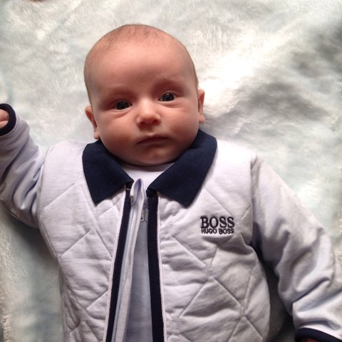 7844e2276 100% authentic Hugo boss baby boys outfit! Reversible - worn - Depop