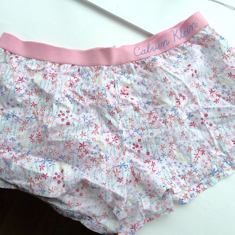 9c1248d38 @mysticgolden. 3 months ago. Oxfordshire, UK. Super cute Calvin Klein  pyjama shorts from Asos ...