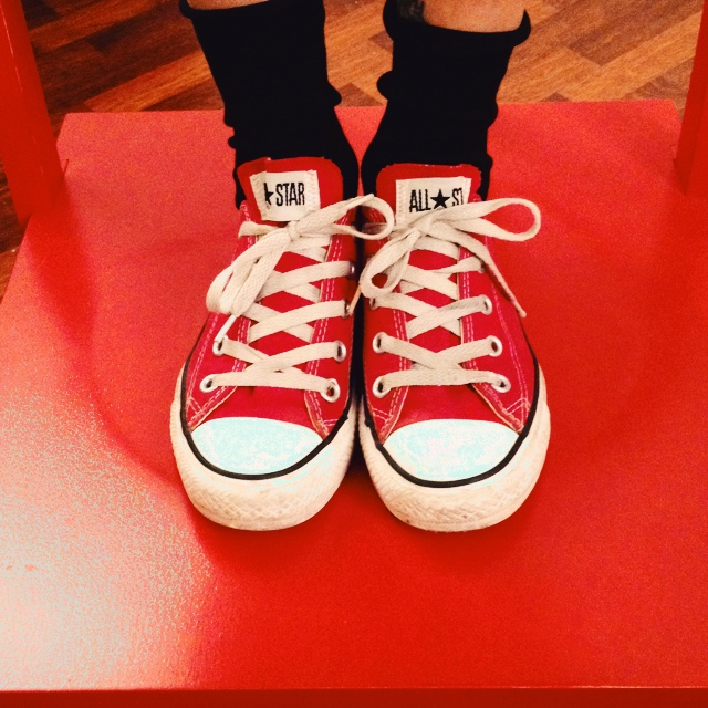 RIBASSO CONVERSE ALL STAR ROSSE NR 37 15€ SS ESCLUSE ...