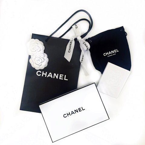 c4599c200bd4a4 ◾️Authentic Chanel gift packaging. Includes gift bag, TWO a - Depop
