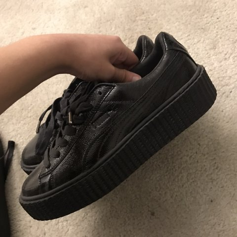 uk availability 21dd6 88d68 fenty puma creepers in all- 0