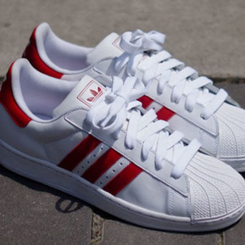 the latest 3a591 440fb  savismith. 2 years ago. New York, United States. Adidas Red   White  Superstars.
