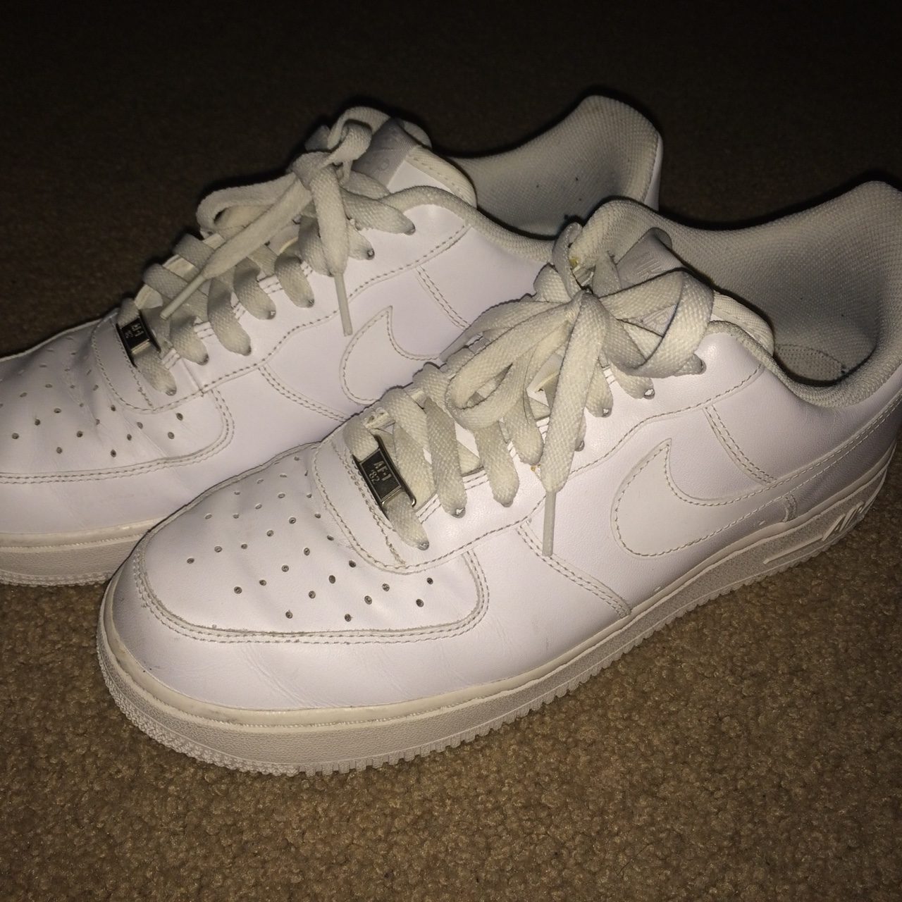 Nike Air Force 1 '07 QS Swoosh Pack(White) 100% Depop