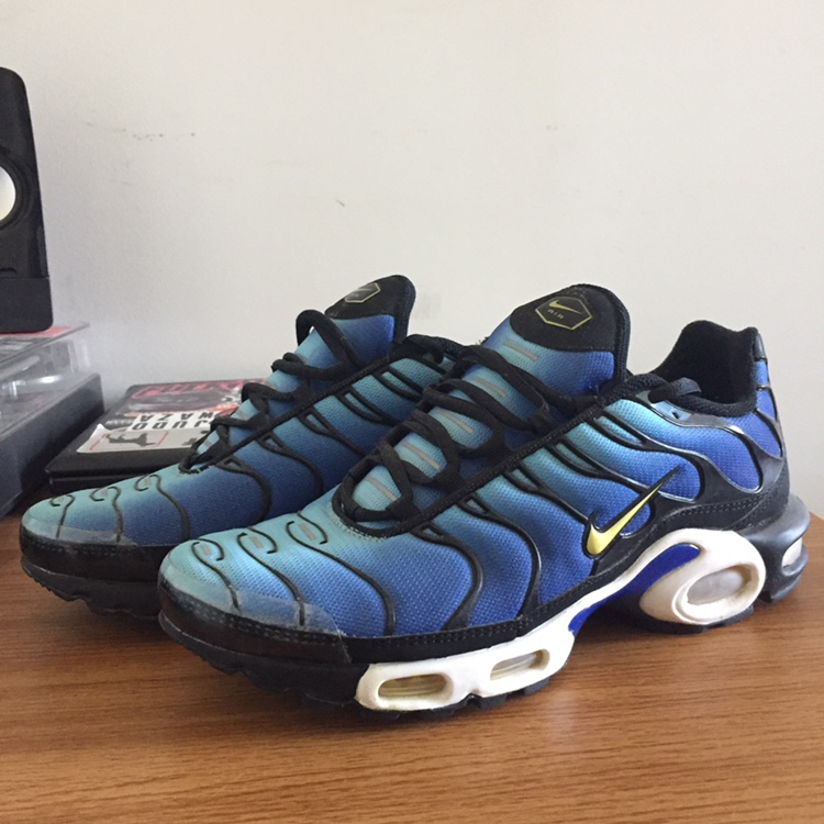 "premium selection 0dfb7 61169 Nike Air Max TN Plus OG ""Hyper Blue"". Size 9, still... - Depop"