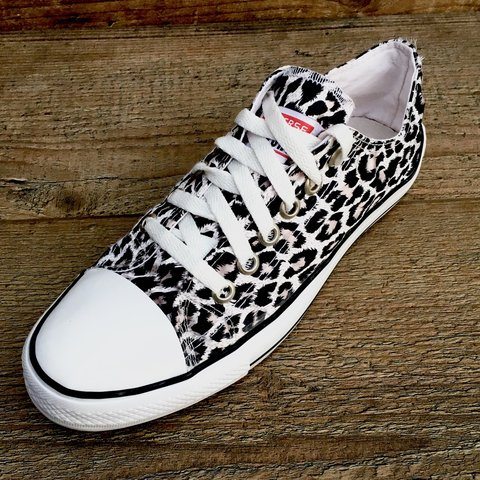 c31bed7e7aac Patterned Converse All Star high top trainers • women s • UK - Depop