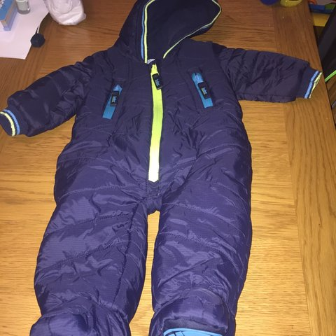 db9588142 Excellent baby ted baker snowsuit for sale.used but as you - Depop