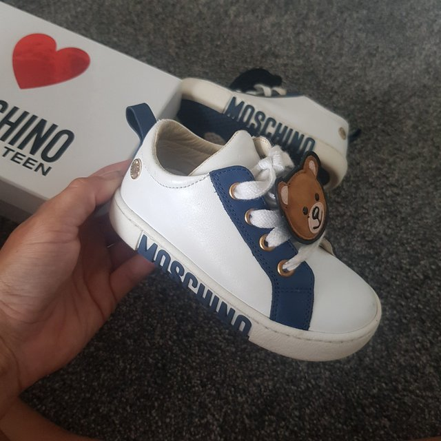 infant moschino trainers