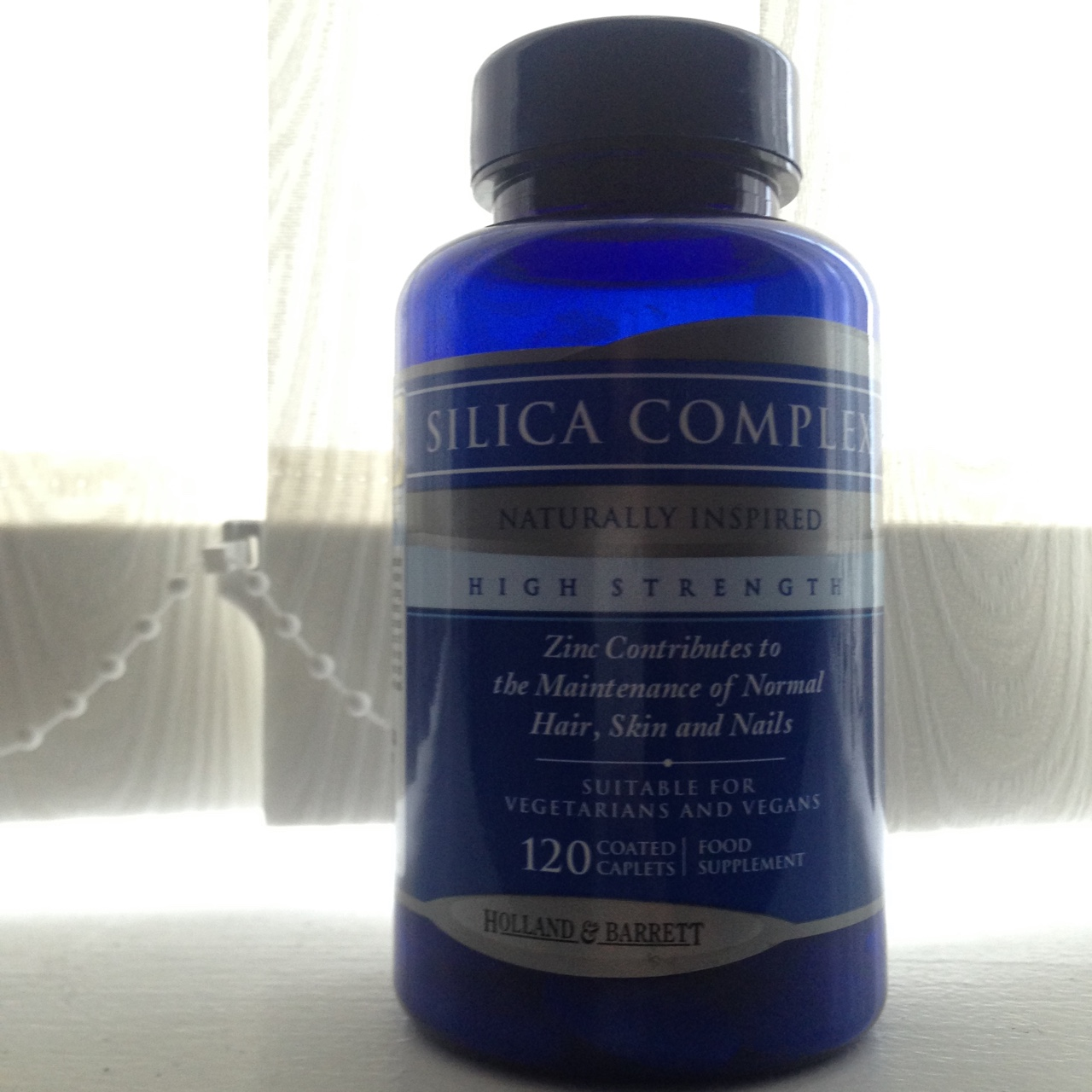 Silica complex supplements from Holland and Barrett,    - Depop