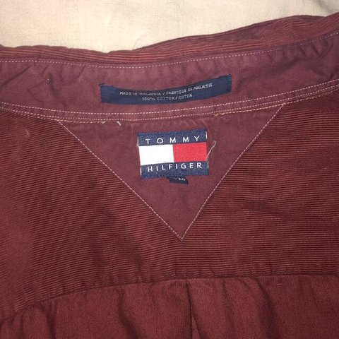 c237925e @jessicaleigh909. last year. Stoke-on-Trent, United Kingdom. Vintage Tommy  Hilfiger corduroy shirt ...