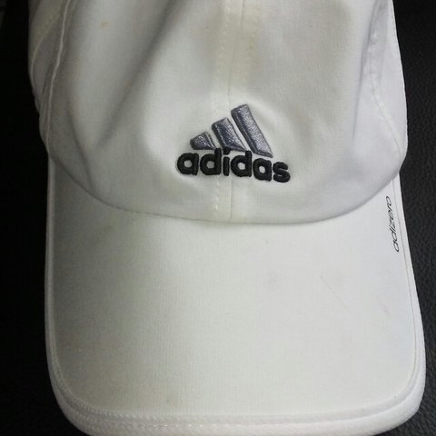 23a9bf55138f2 White Adidas dad hat. It gives you the authority to tell to - Depop