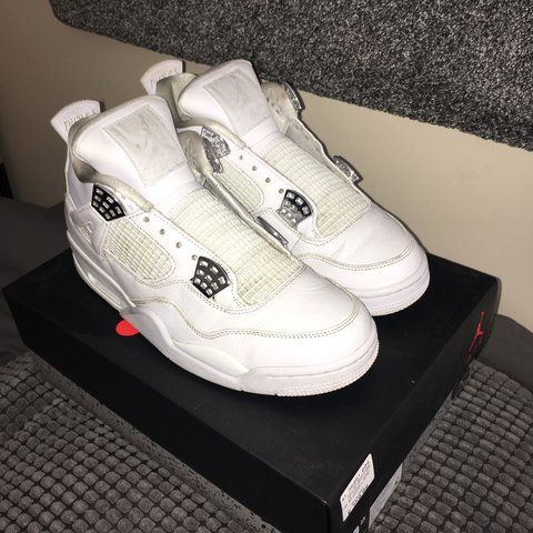 18dbb5bb4d61d8 Nike Air Jordan 4 Pure Money UK 8.5