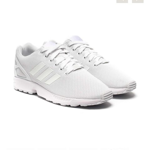ddca46fd9 Selling these adidas zu flux trainers in all white