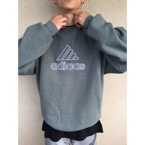 throwback adidas sweatshirt