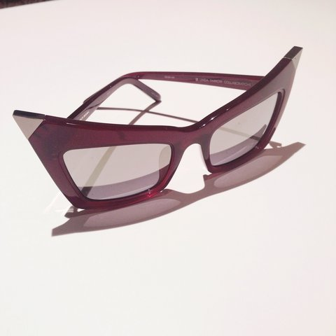 3c109c6bc81 Alexander Wang sunglasses in oxblood red