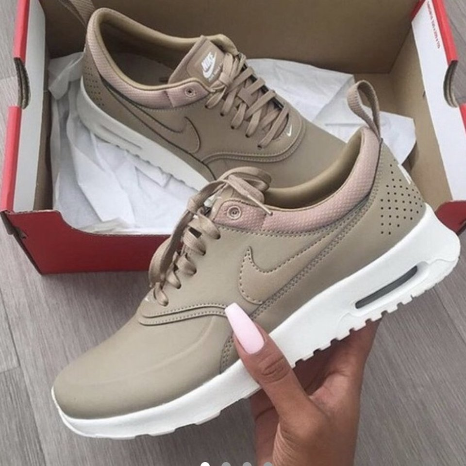 Nike air max Thea in colour sand. Sold