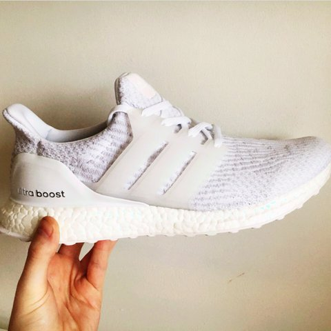 1e2b478c20e Adidas Ultra Boost • Triple White • Size UK 11 • Brand New • - Depop