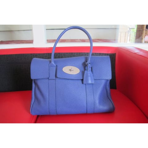 6175f03fa2 order mulberry brown bayswater top handle bag 3d3c0 592f1; new arrivals mulberry  bayswater in indigo soft grain leather rrp 1100 depop 9ffca 66962