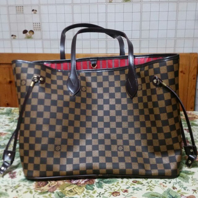 d5b7f011a8 ❤VENDO❤ Borsa shopper (replica) LOUIS VUITTON Neverfull e su - Depop