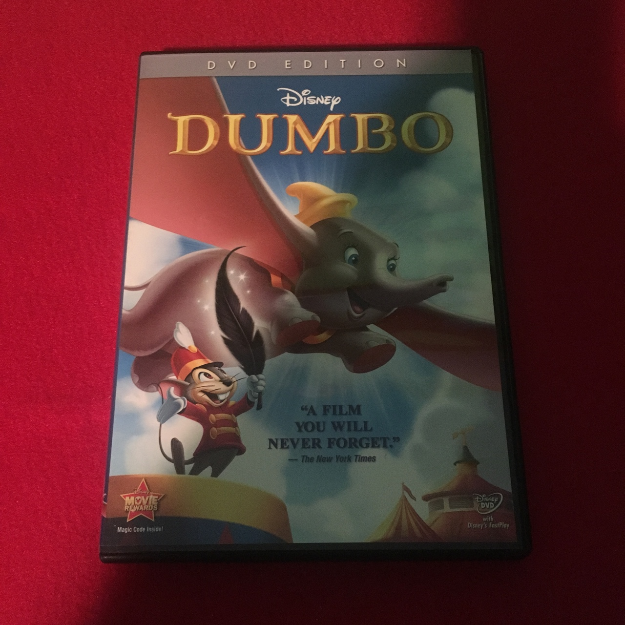 Disney's Dumbo DVD. Perfect condition. Price listed... - Depop