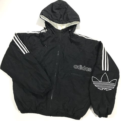Vintage 90 s Adidas puffy down jacket. Puffy with three down - Depop 6929736a2207