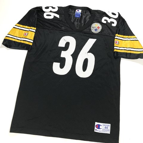 d016f8b67 Vintage 90 s NFL Pittsburgh Steelers Jerome Bettis jersey by - Depop