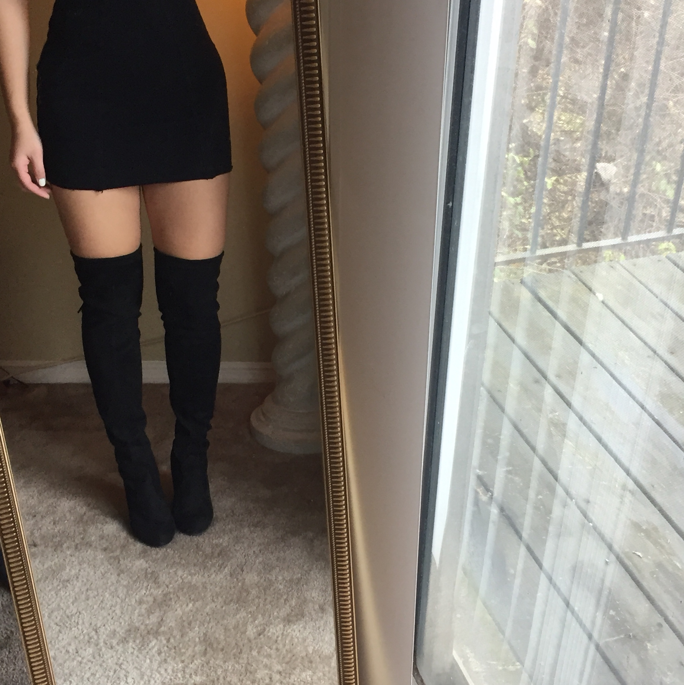 Religioso Móvil Canal  STEVE MADDEN GORGEOUS Over the knee boots in size... - Depop