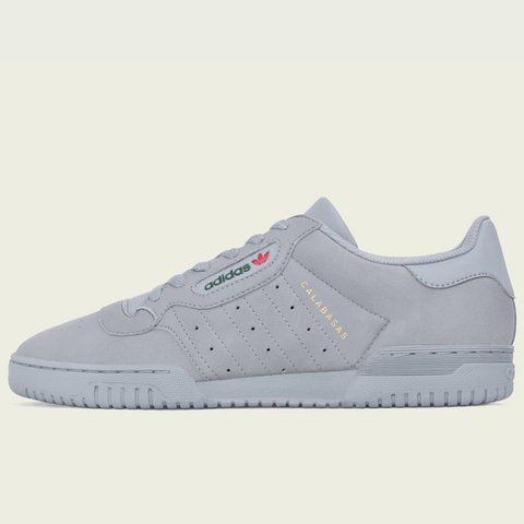 One pair of Yeezy Powerphase- Grey- 8.5- look sick with not - Depop 17c164972
