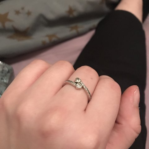 166b6c853 @mvgrxine. 2 months ago. Carlisle, United Kingdom. Pandora forever hearts  ring, SIZE 52 really really good condition ...