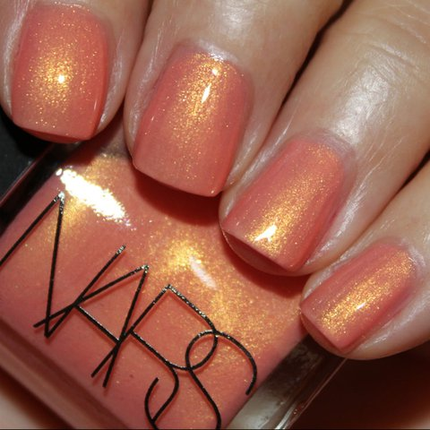 NARS orgasm nail polish. Roughly 75% left to it. Never gets - Depop
