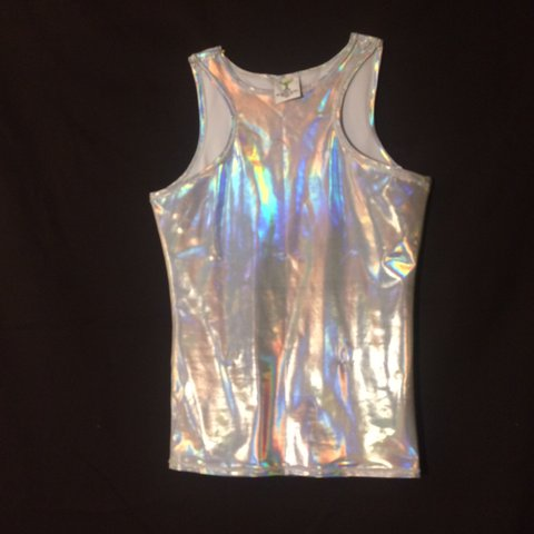 e5fc919bd @ginmartinidesigns. 2 years ago. Houston, United States. Size Small  Holographic shirt.