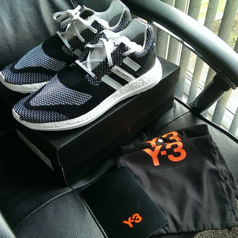 0e746d1e0 Adidas Y3 ZG Knit PureBoost Size UK10.5 Deadstock Spare y3 - Depop
