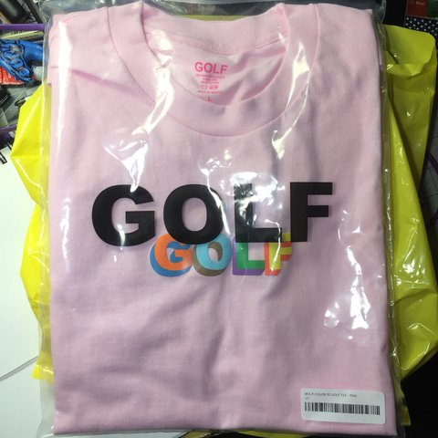 bf476b659eef Brand New Pink Golf Wang 3D Logo Tee Size Large Never worn