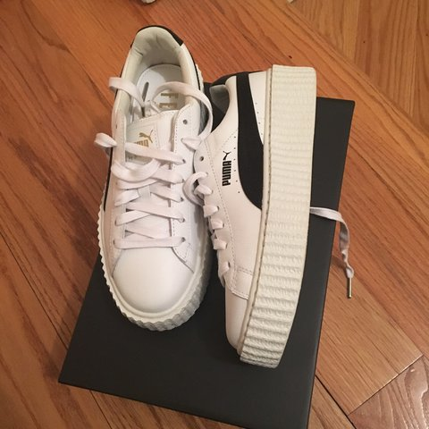 6ede0d7890efb2 ON HOLD  Fenty Puma by Rihanna creepers in a women s size - Depop