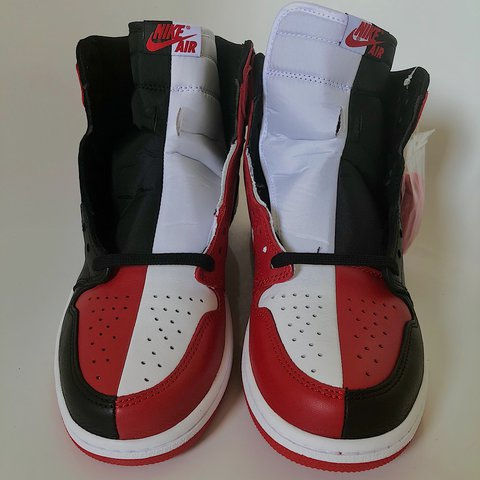 320ee5f826f7 Air jordan 1 homage to home   Chicago - Bred SIZE US11.5 - Depop