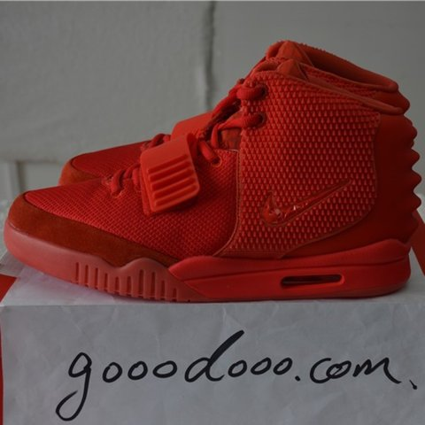 bb59176d22f Nike air yeezy 2 Red october by Kanye West. New with tag - Depop