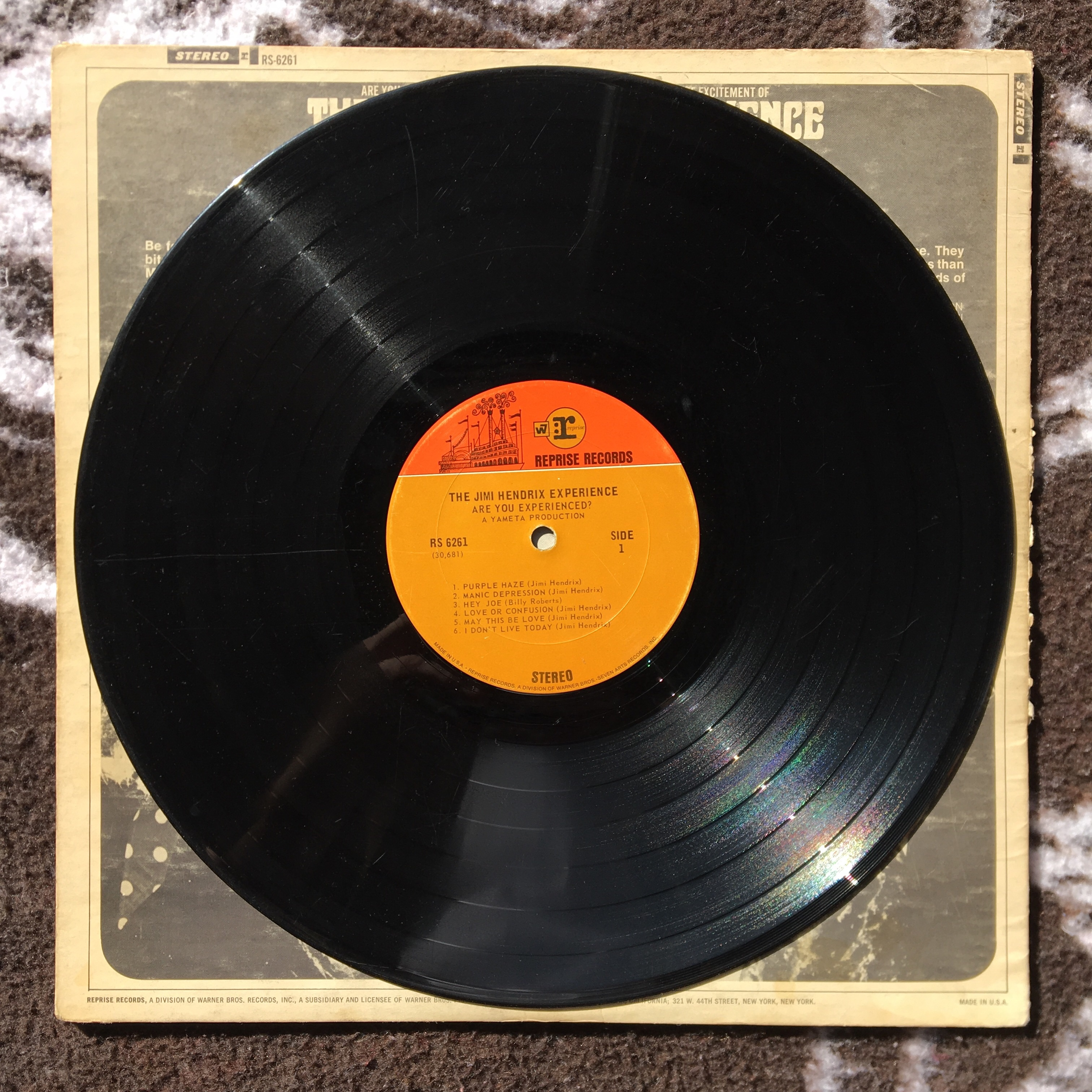 ☣️PRICE DROP☣️🛑The Jimi Hendrix Experience - Are you