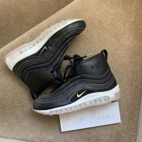 bbbb6e30ea4f RT   Nike Air Max 97 Uk 8.5 9 10 worn once No major was a - Depop