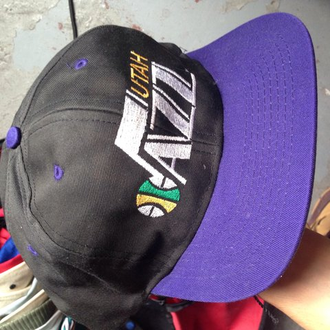 0af2d73056885 ... reduced vintage utah jazz snapback like new great condition depop cc8c8  fed6d