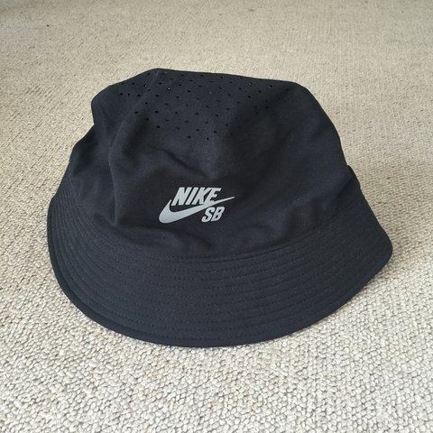 746f0a9bf27 Nike SB performance bucket hat DRI-fit black. Worn a couple - Depop