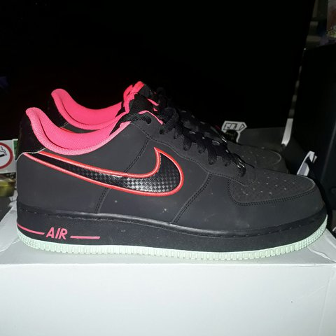 42d2b94732fa9 Nike Air Force 1 bassicaly the Nike Yeezy colour way. Great - Depop
