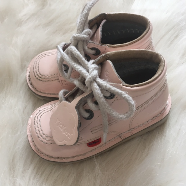 Baby Pink Infant Kickers Size Euro 23