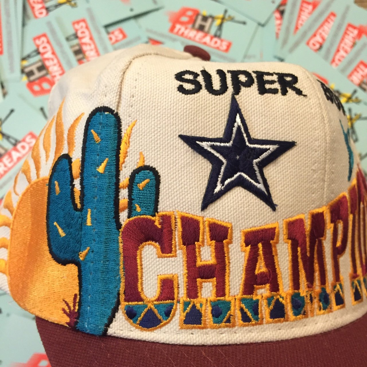 Logo Athletic Cowboys Super Bowl XXX Champs Snap  25 - Depop aa6e0d534
