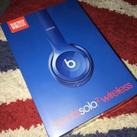 c83a77865fa Brand new unopened Dr Dre Beats Solo 2 Wireless Headphones a - Depop