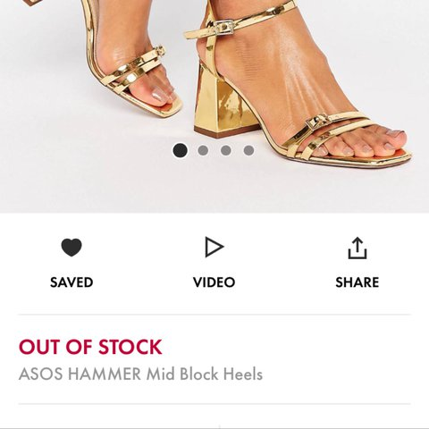 18df442ae5e6 ... LOOKING FOR ASOS HAMMER mid block heels in a 6 Depop
